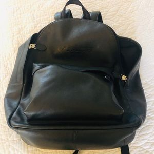 COACH Men's Charles Calfskin Leather Backpack